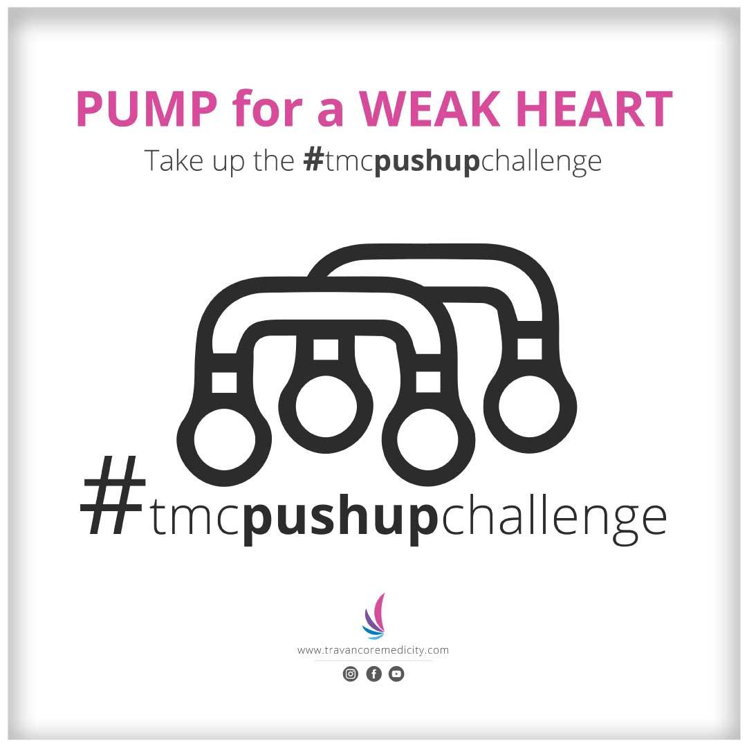 Pushup challenge | Travancore Medicity